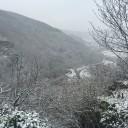Ahrtal im Schnee